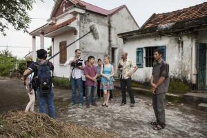 Inspelning med bl a filmfotograf Vincent Beaumont och Ulrika Lindström i Cat Ba, Vietnam