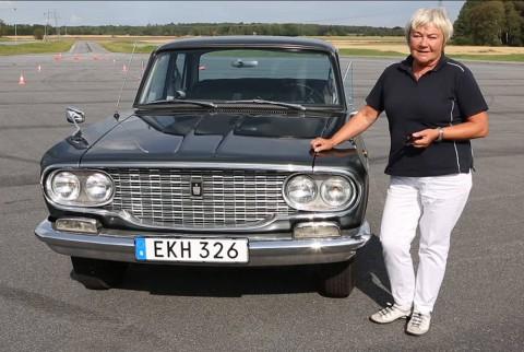 Toyota Crown och Marianne Sterner still 1000